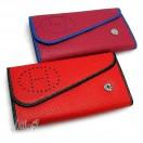 Женская сумочка клатч бордовый на цепочке экокожа Hermes