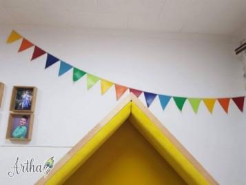 Флажки, гирлянда, декор для детской
